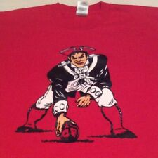 New listing Vintage New England Patriots Men's Xl Old Logo Red Single Stitch T-Shirt