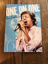 Paul McCartney 2017 One On One Tour Program With Sticker Set
