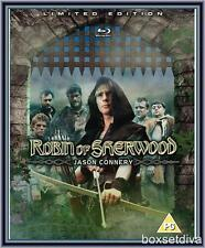ROBIN OF SHERWOOD - LIMITED EDITION -JASON CONNERY  **BRAND NEW BLU RAY