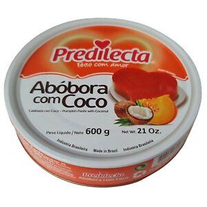Predilecta Abobora & Coco / Sweet Pumpkin & Coconut 600g