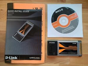 DWA-645 D-Link Used Wireless PCMCIA Card