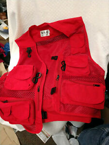 Liesezhe Men Quick-dry Multi Pockets Vest Outdoor Travelers Fishing -FREE Ship!
