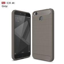 Shockproof Brushed Soft TPU Case Cover For Xiaomi Redmi Note 5 6 Pro Mi A2 Lite