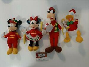 1995 McDonald's Happy Meal Toys Lot of 4 Disney Mickey's Merry Band Lot 2