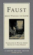 Norton Critical Editions: Faust 0 by Johann Wolfgang Von Goethe and Cyrus...