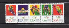 RSA Afrique du Sud South Africa Y&T N°907 à 911 une bande 5 timbres neufs/T3850