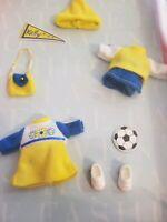 RARE Barbie Kelly Doll Fashion Avenue Soccer Star Outfit NRFP ~ Vintage 2000