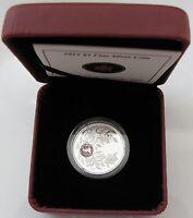 2012 Proof $3 Birthday June 9999 silver w/ Alexandrite crystal Birthstone Canada