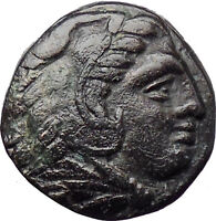 Alexander III the Great 336BC Ancient Greek Coin Hercules Bow Club  i30272