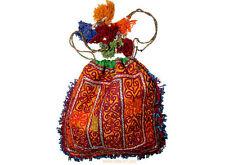 antike afghan Nomaden gestickte Geldbeutel beutel bag Portemonnaie Geldbörse N19