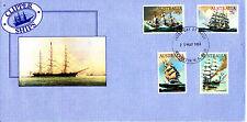 1984 Clipper Ships Fdc - Merredin Wa 6415 Pmk