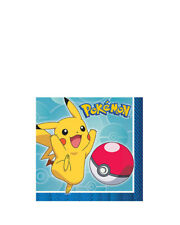 Pokemon Core Beverage Napkins Pack Of 16 One Size