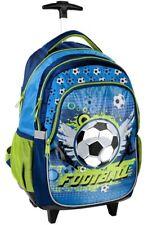 Zaino Trolley Scuola Ragazzo Pallone Calcio 17-997K Football, Paso