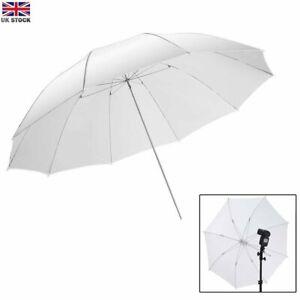 "33"" White Translucent Umbrella For Studio Photography Photo Flash Light"