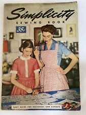 1954 Simplicity Sewing Book Vintage Featherweight Photos