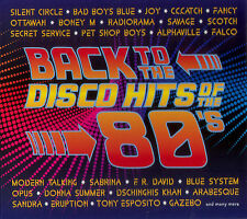 BACK TO THE DISCO HITS OF THE 80'S 2CD DIGIPAK   - brand new & sealed