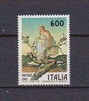 S17188) Italy MNH 1991 Christmas 1v