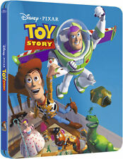 Toy Story Limited Edition Steelbook Bluray UK Exclusive Region B NEW SEALED
