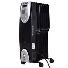 1500W Electric Oil Filled Digital Radiator Space Heater Thermostat Home Radiant
