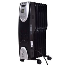 Oil-Filled Home 1500 W Electric Oil FilledSafe Digital Radiator Space Heater US