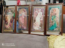 Alphonse Mucha Four Seasons Mirrors