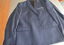 NWT $600 The Kooples Single-Breasted Wool Blazer Navy Jacket Size US 40/ EU50