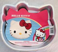 Wilton HELLO KITTY Sanrio Cake Pan Metal Mold Bake Tin w/ Insert Instructions