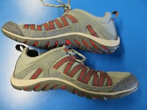 Men's Merrell Hymist Water Shoes size 7 Monument/Fiery Red
