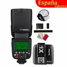 Godox TT685S TTL 2.4G Cámara Flash Speedlite X1T-S Trigger para Sony A77II A7S