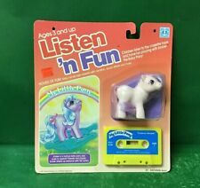 "1985 Listen' n Fun ""My Little Pony Embers Dream"" NIC By Hasbro"