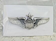 "USAF Air Force Senior Pilot Wing Wings Badge 2"" mini size pin 80's new in pkg"