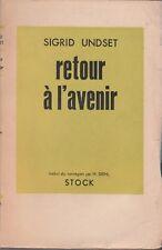 S. Undset - RETOUR A L'AVENIR - stock - 1952
