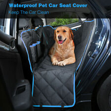 Dog Pet Hammock Car Seat Cover Mat SUV Rear Bench Pad Waterproof w/ View Window