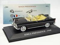 Ixo Presse 1/43 - Simca Présidence 1960