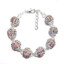 Sparkling Rhinestone Beaded Bridal Bracelet made with Crystals from Swarovski®