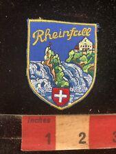 Ver 2 Rhine Falls - Europes' Biggest Waterfall RHEINFALL Switzerland Patch S88R