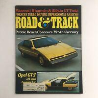 Road & Track Magazine December 1975 Maserati Khamsin & Alfetta GT Tests, VG