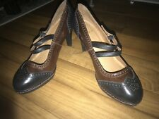 Anthropologie Schuler and Sons Philadelphia Oxford Heels Size 8.5-9