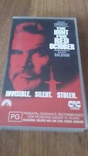 THE HUNT FOR RED OCTOBER - SEAN CONNERY, ALEC BALDWIN  - VHS VIDEO TAPE