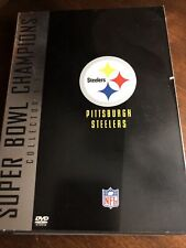New listing Pittsburgh Steelers: Super Bowl Champions 2 Dvd Collector's Series 2005 New