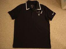 "NWT Nike Federe r ""RF"" Victory Court Tennis Polo Shirt Nadal 381369-452 Med / L"
