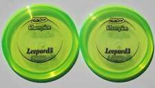 Innova Champion Leopard3 [2-Pack] 167.9 & 167.9 Grams Lime Green Fairway Drivers
