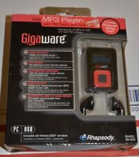 GigaWare 4gb MP3 player with fm radio and speaker new GX400 42-420 RadioShack