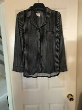 Dkny Pyjama Top Size Med Blue&white Stripe