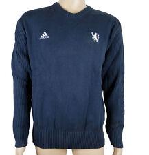 Adidas CFC FC CHELSEA ST Herren Pullover Strickpullover Blau Neu Gr.XL