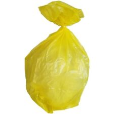 PlasticMill 40-45 Gallon, Yellow,  1.5 Mil, 40x46, 100 Bags/Case, Garbage Bags.