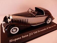 Voiture 1/43 IXO altaya Voitures d'autrefois HISPANO SUIZA J12 T68 Fernandez 33