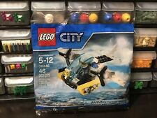 New Lego City 30346 Prison Island Helicopter Polybag NISB Sealed