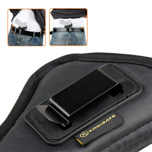 Tactical Concealed PU Leather Waist Gun Holster Pistol Holster Glock G19