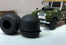 Land Rover Series 1 86 88 107 109 Wing Door Domed Rubber Buffer Stops x2 302552